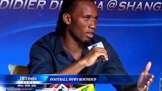 Football Roundup: Berbatov wants United exit, Newcastle up bid for Carroll, Shanghai unveil Drogba