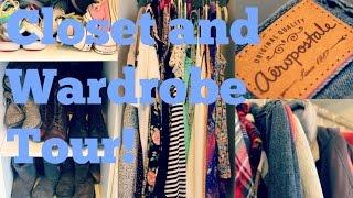 Closet/Wardrobe Tour!♡ Thumbnail