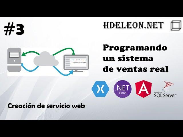 #3 Programando un sistema de ventas real | Creación del servicio web