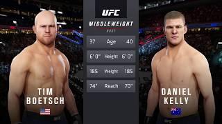 Ultra Real   EA Sports UFC 3   Tim Boetsch vs. Daniel Kelly