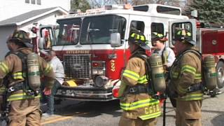 Little Falls, NJ Fire Department 3rd Alarm Fire 188 Route 23 April 17th 2014