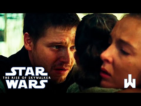 Star Wars The Rise Of Skywalker Rey S Parents Death Youtube