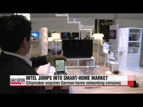 Intel jumps into smart-home market with acquisition of German home networking co