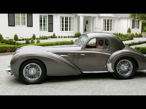 1937 Delahaye 145 Chapron Coupe – Grand Prix Legend Turned Wartime Coupe