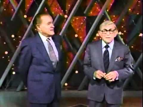 Bob Hope & George Burns, 1990