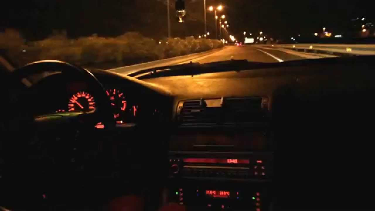 Bmw E39 528i Night Time Driving Youtube