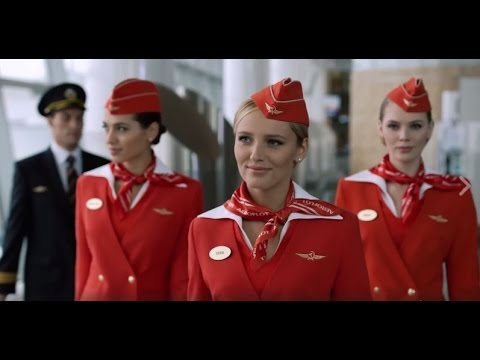Аэрофлот - российские авиалинии. Предполетный инструктаж Safety Video на Boeing 777 300ER