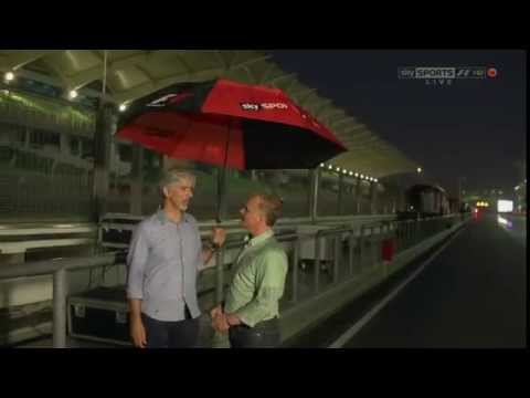 Johnny Herbert and Damon Hill's funny rendition of the Vettel-Webber Multi-21 At 2013 Malaysian GP