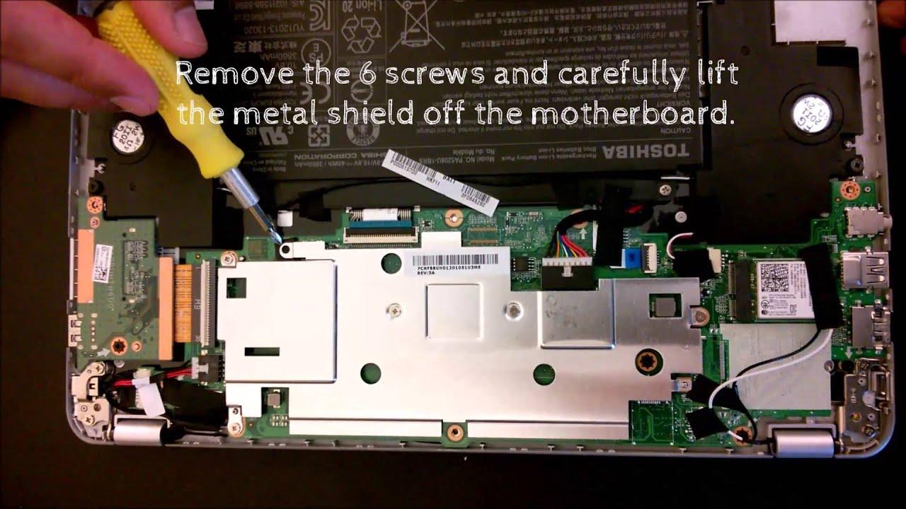 Disable write protect on Toshiba Chromebook 2