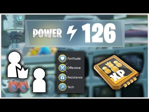How to Increase your Power Level - Post Front UI Update - Fortnite Save the World