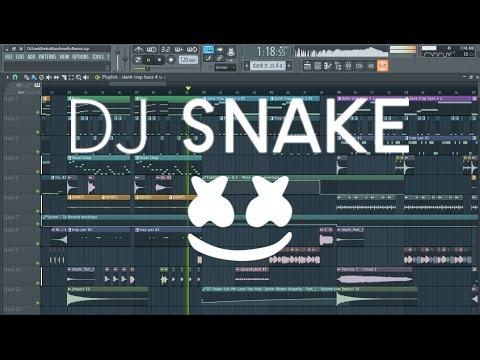 DJ Snake Feat. Justin Bieber - Let Me Love You (Marshmello Remix) [REMAKE + FLP]