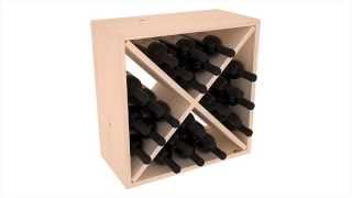 Wine Storage Cube Assembly Tutorial