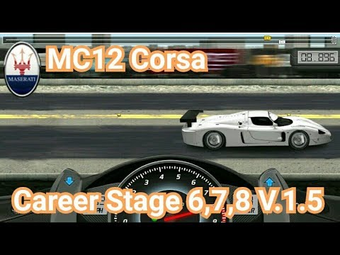 drag racing tune car mc12 corsa for 3 career stage level 6. Black Bedroom Furniture Sets. Home Design Ideas