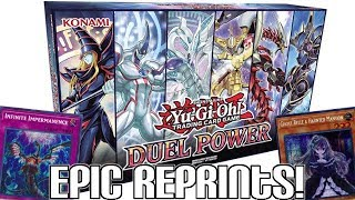 BEST SET EVER!? Yu-Gi-Oh! DUEL POWER Announced! | New Art Dark Magician & Hand Traps Reprinted!