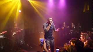 Concert Axel Tony - Je t'aime trop avec Layanah (trabendo 9/11/12)