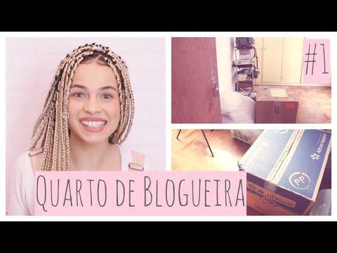 Vlog 1 - Reforma do Cantinho de Gravação Novo | Jáquecacheia