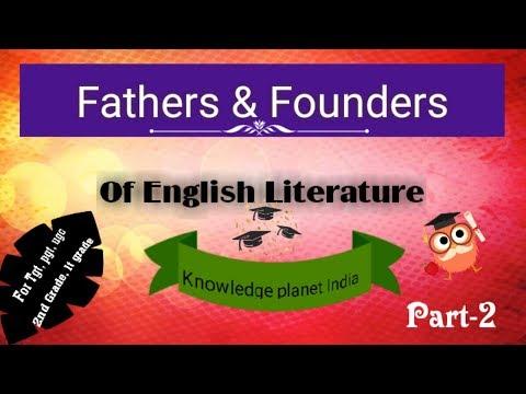Father & Founder Of English Literature Part-2    For 2nd Grade, Lt Grade, Dsssb, Ugc Net Exam   