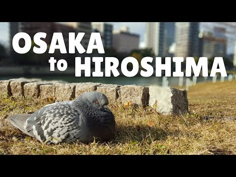 OSAKA TO HIROSHIMA | JAPAN BUS TRAVEL | LIFE IN JAPAN | FIRST WORLD TRAVELLER