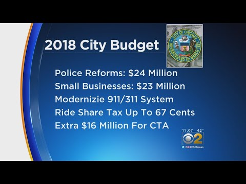 Chicago City Council, Cook County Board Voting On Budget Plans