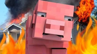 TED DOIT SURVIVRE ! | Save ted Burning House !