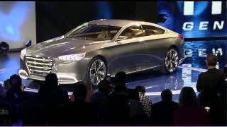 Hyundai Genesis concept reveal at 2013 NAIAS