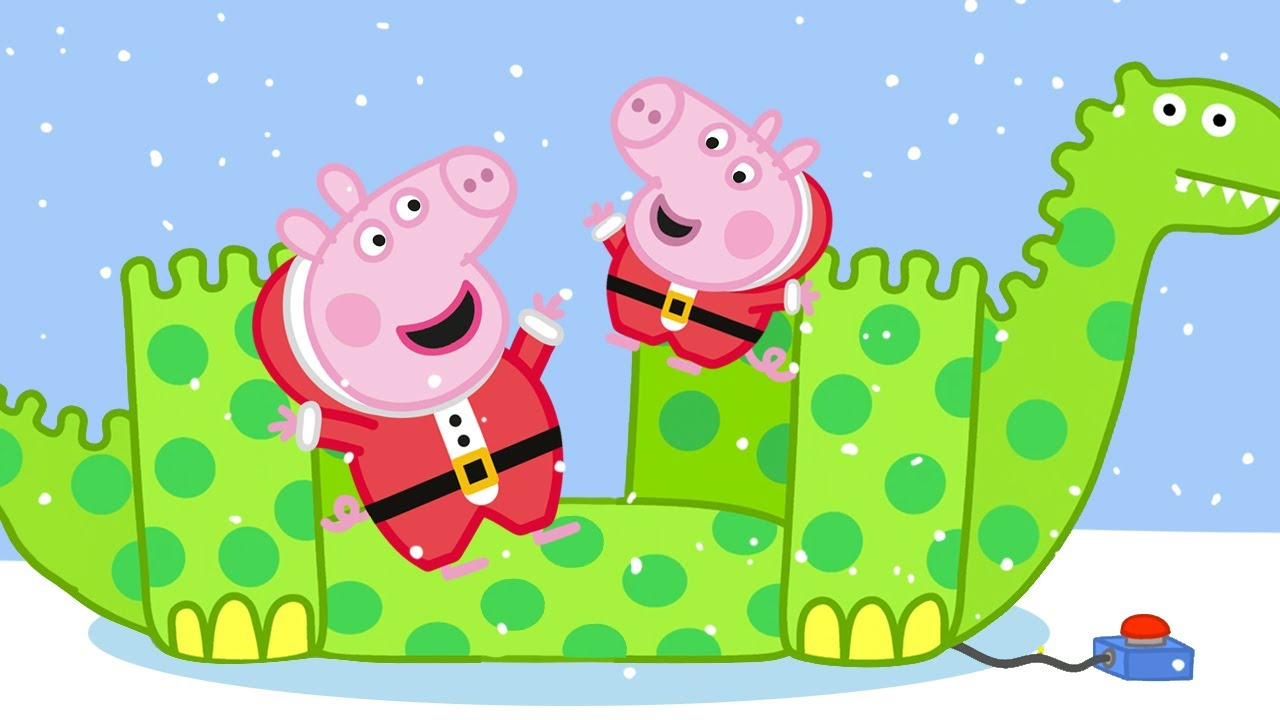 Peppa Pig Français ❄️ L'aventure de la neige   Épisode Complet   Dessin Animé Pour Bébé