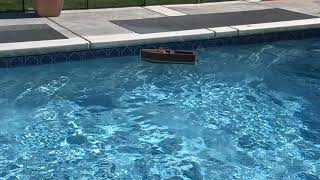 Build wooden model boat from scratch.