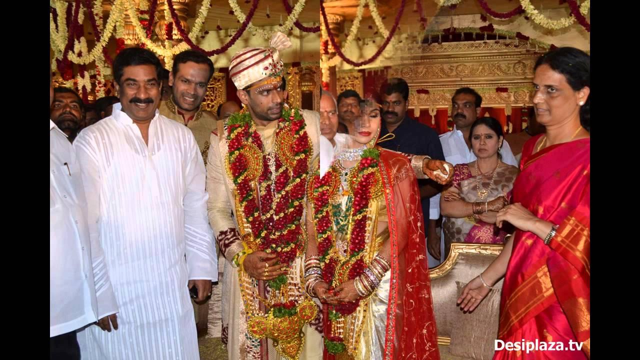 Sabitha Indra Reddy Son Marriage Photos