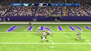 SO COLD in Minnesota Madden 13 Ranked Gameplay using the Vikings