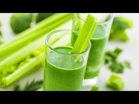 The Health Benefits of Drinking Celery Juice