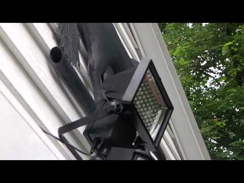 Bunker Hill Security 60 LED Solar Security Light Review Harbor Freight Item #69643