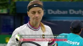 WTA Day 6 Highlights - Dubai Duty Free Tennis Championships