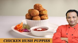 Chicken Hush Puppies Recipe With Philips Air Fryer Video  By Vahchef