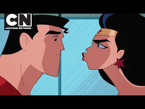 Justice League Action | Superman's Infection | Cartoon Network
