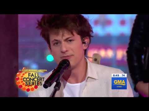 [HD] Charlie Puth - How Long (Live On GMA...