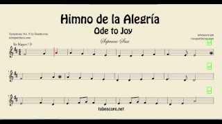 Soprano Sax Ode to Joy Himno de la Alegría