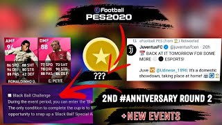 2nd Anniversary Round 2 + New Events _ Pes 20 Mobile