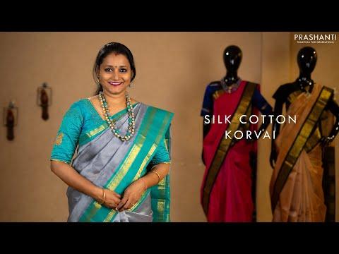 Silk Cotton Korvai