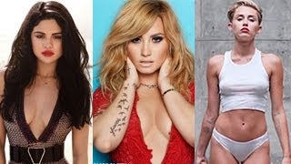 Miley cyrus, selena gomez, demi lovato - give your heart a wrecking love song (mashup) -- released