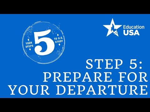 Step 5: Pre Departure Orientation - A Panel Discussion