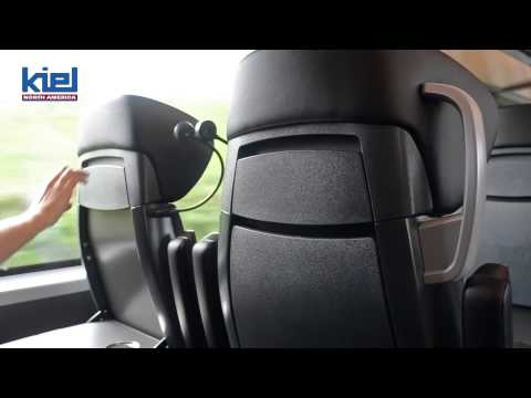 Kiel introduces new seat model for intercity and high speed rail travel