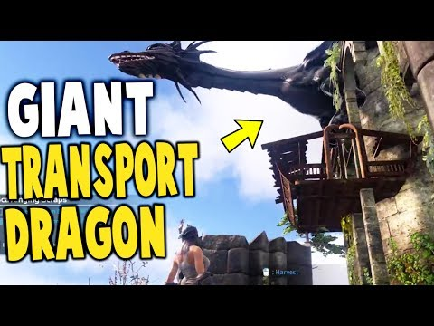 Dark and Light - GIANT DRAGON TRANSPORT, WOLF & BOAR TAMING - Dark and Light Gameplay