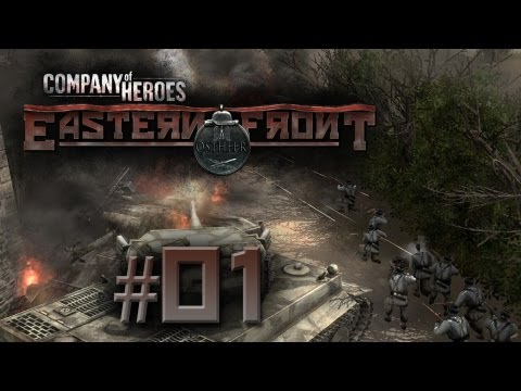Company of Heroes -- Eastern Front Let's Fight #01 [German|Deutsch]