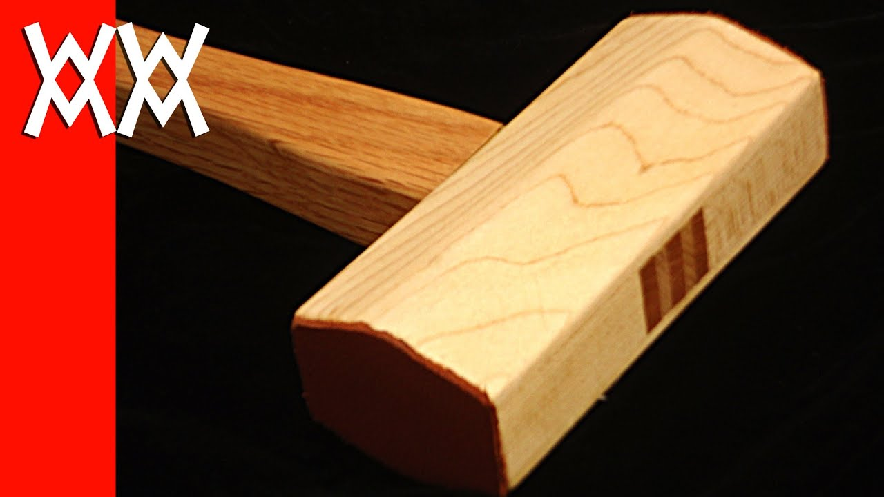 Make a wood mallet a must have for any woodworker youtube for Easy things to build