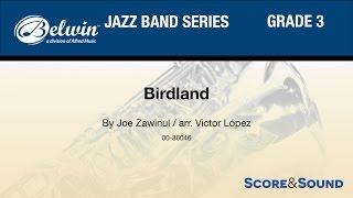 Birdland arr. Victor López - Score & Sound