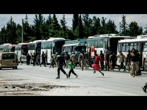 وصول قوافل أهالي القلمون إلى شمال سوريا  - نشر قبل 15 دقيقة