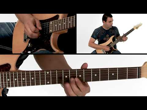 Power Ballad Soloing Guitar Lesson - Exotic Tension Performance - Tony Smotherman