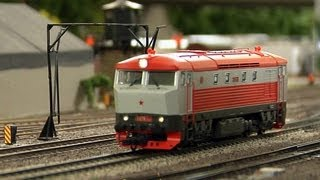 The Miniature Elbe Valley Railway in HO Scale