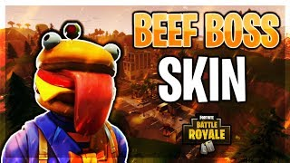 🔴I'M LIVE! FORTNITE! NEW BEEF BOSS SKIN! *XBOX CONSOLE*
