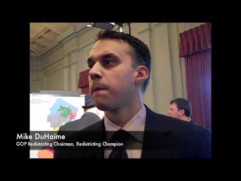 NJ Congressional Redistricting 2011: Duhaime vs. Roberts